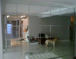 Mirror Wall Tiles beveled mirror wall image gallery - hcpr