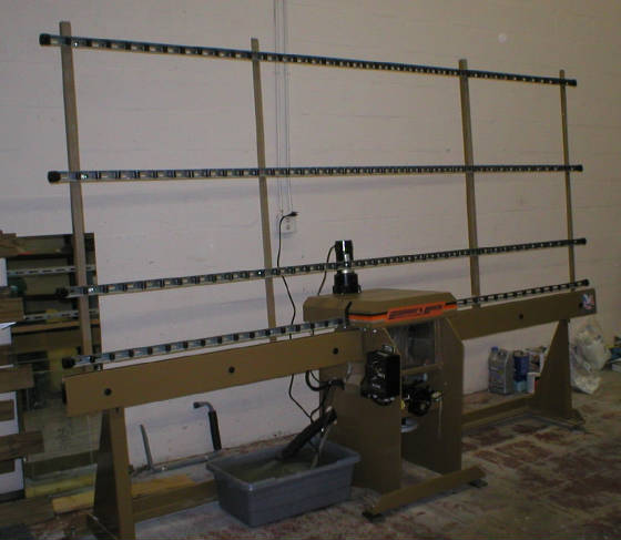 Somaca/CR Laurence single spindle edging machine